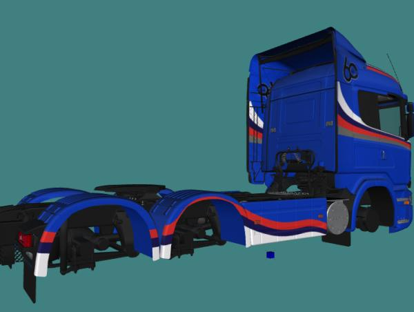 Scania R620 V8 King of the Road - 60 ANOS BRASIL 80% W.I.P